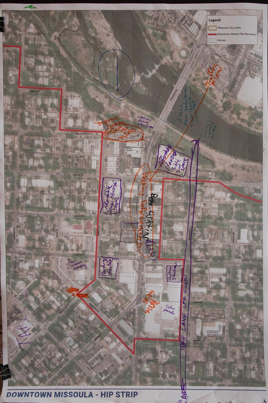 A Maps of HIP Srip