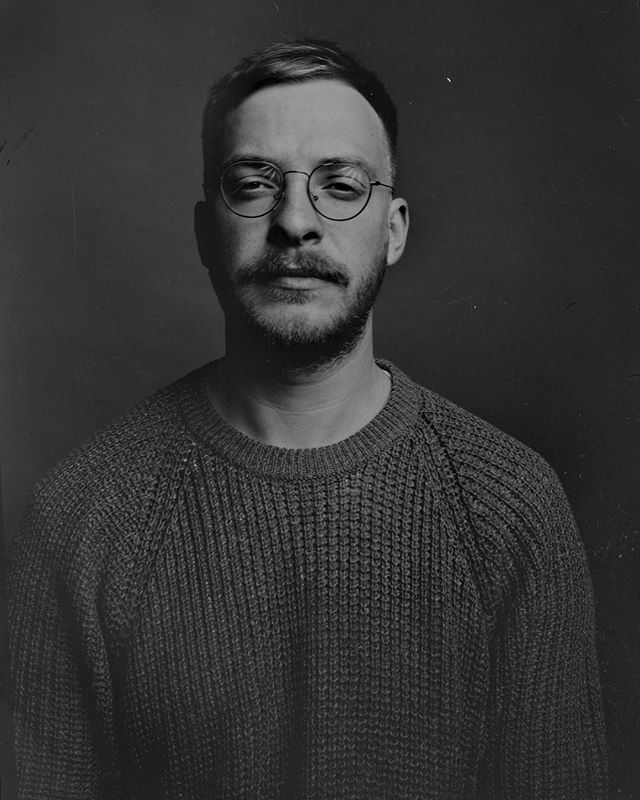 Pashkovskiy Portrait Studio Portrait - Selfie Arca-Swiss F-Classic 4x5+X-ray film (Kodak)