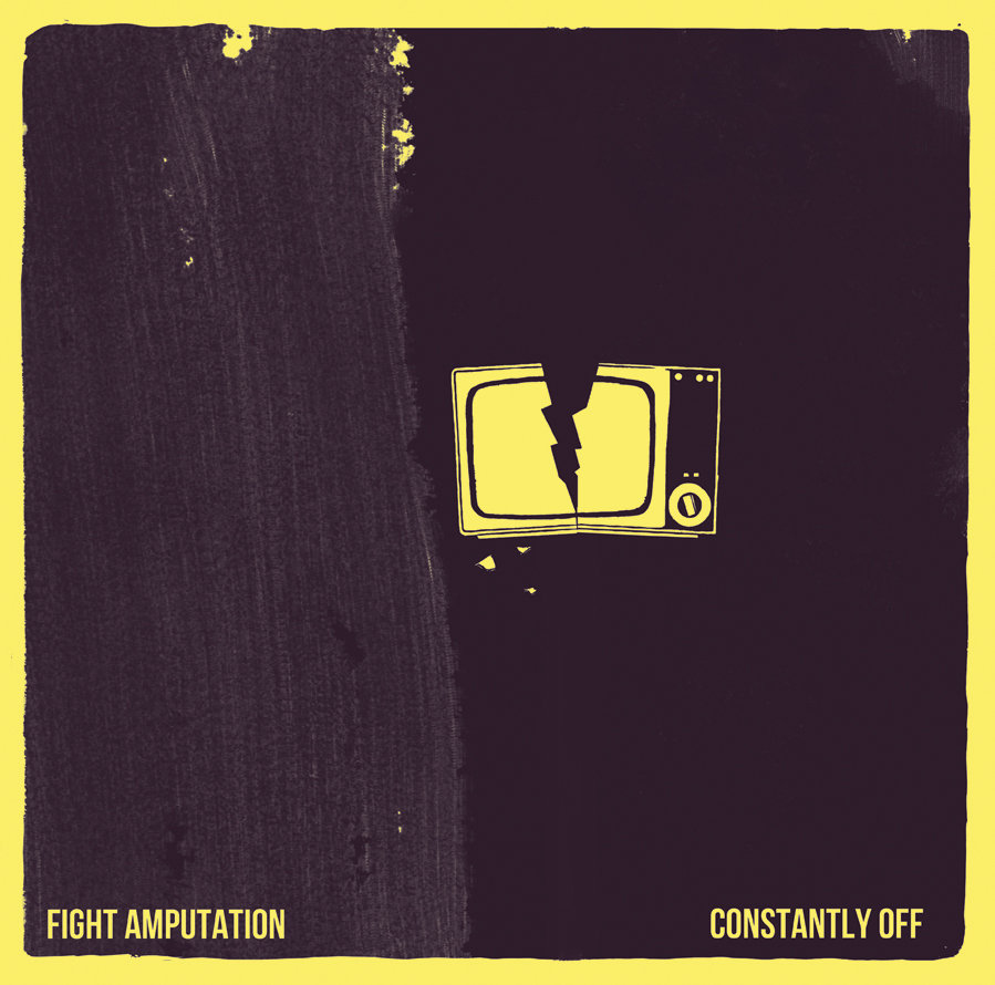 KH002: FIGHT AMP - CONSTANTLY OFF (SPLIT RELEASE WITH BRUTAL PANDA RECORDS)