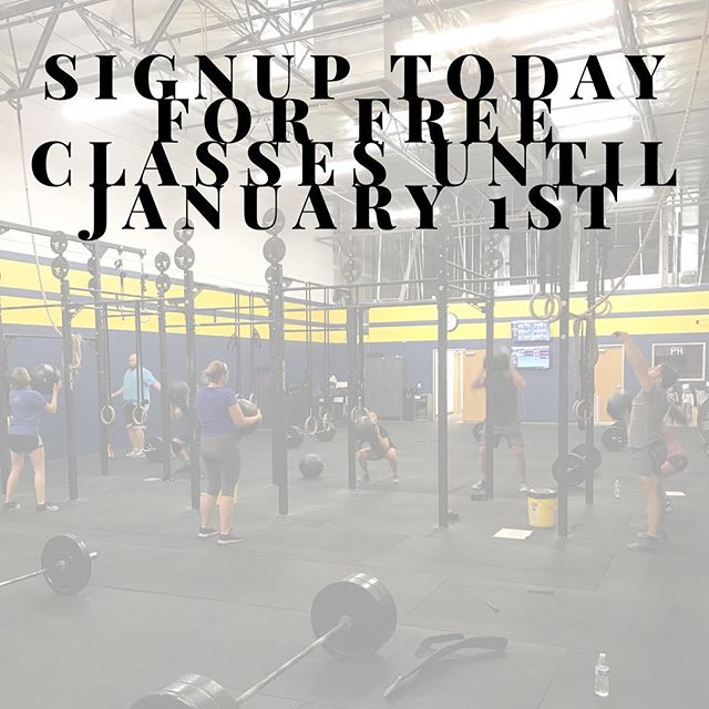 BLACK FRIDAY!! Signup TODAY for FREE and get unlimited classes until January 1st! Offer ends tonight! No catch, no credit cards. Just try us out! Link in bio. #blackfridaycrossfit #tuskcrossfit #confidentyouwillstay #39daysfree