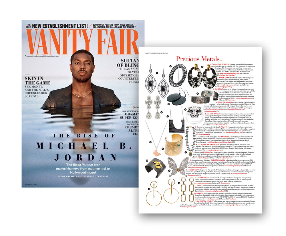 Vanity Fair UK - November 2018