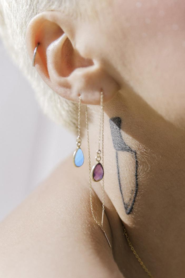 Threader Earring -