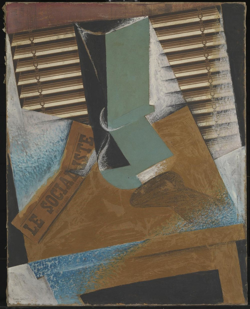 Juan Gris, The Sunblind, 1914