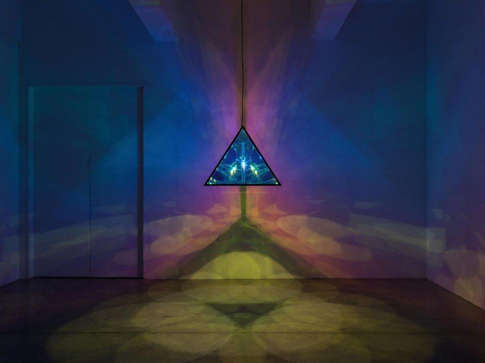Olafur Eliasson, the Tetrahedral Light, 2017