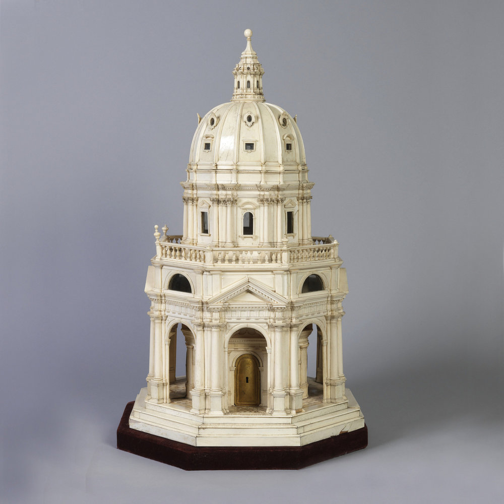 The image we generated the idea from: Church Architectural Model, 1782