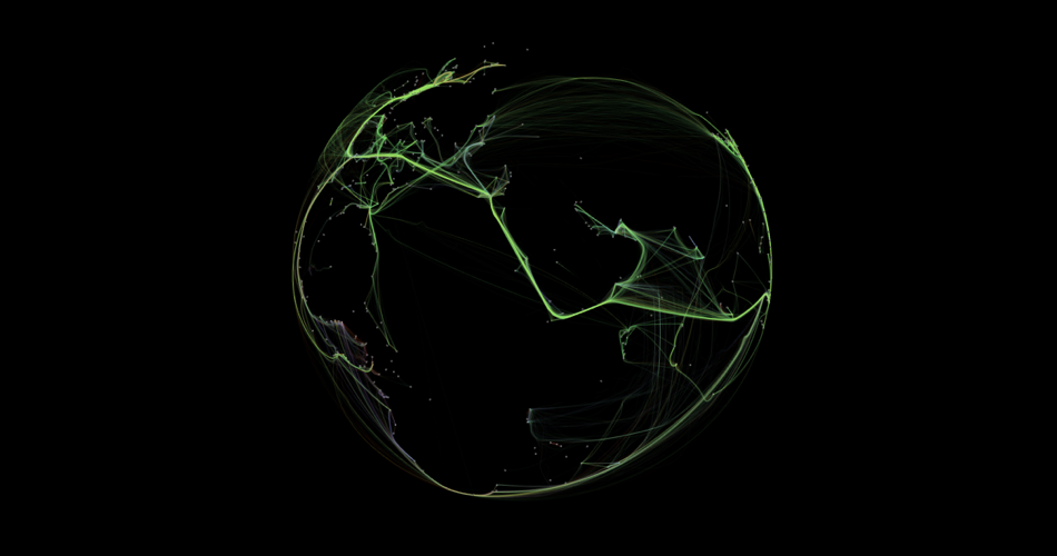 Visualising GPS Data From Various Marine Vessels.