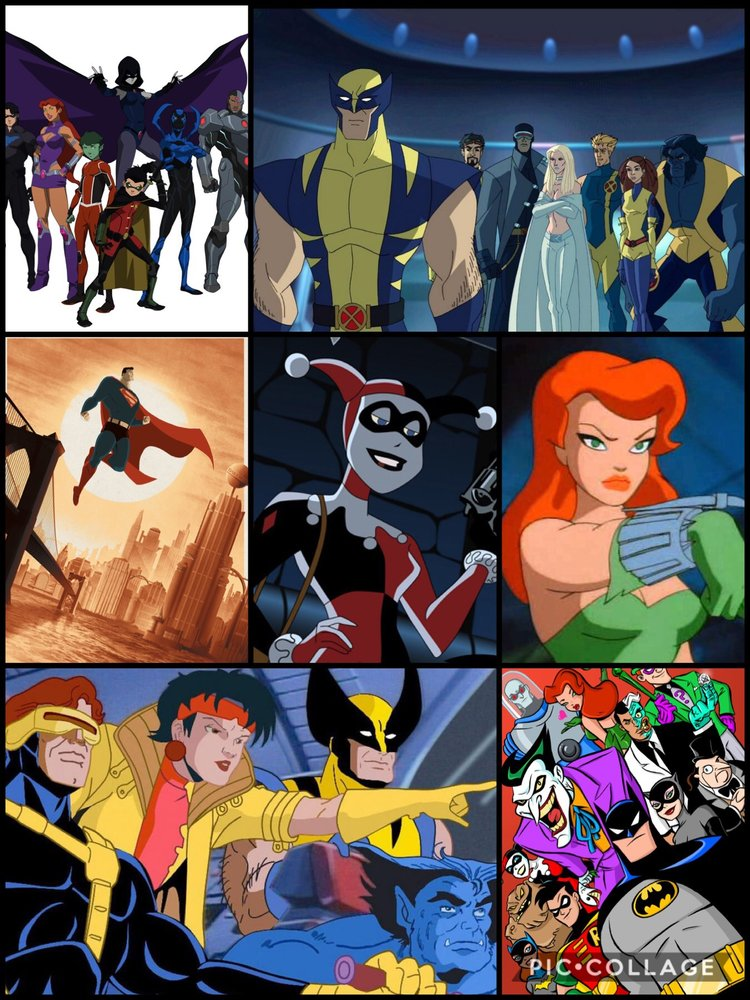 Examples from Marvel and DC Animated Series