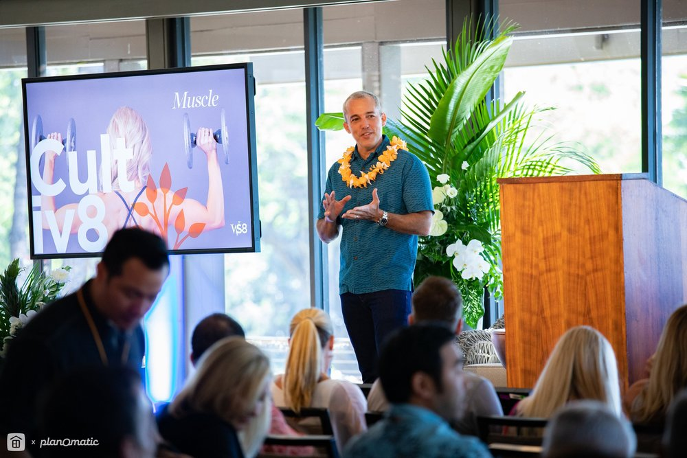 Hawaii Life CEO & Principal Broker Matt Beall. All photos courtesy of AJ Canaria of  PlanOmatic . Please click  here  for a complete photo gallery of Worthshop 8.