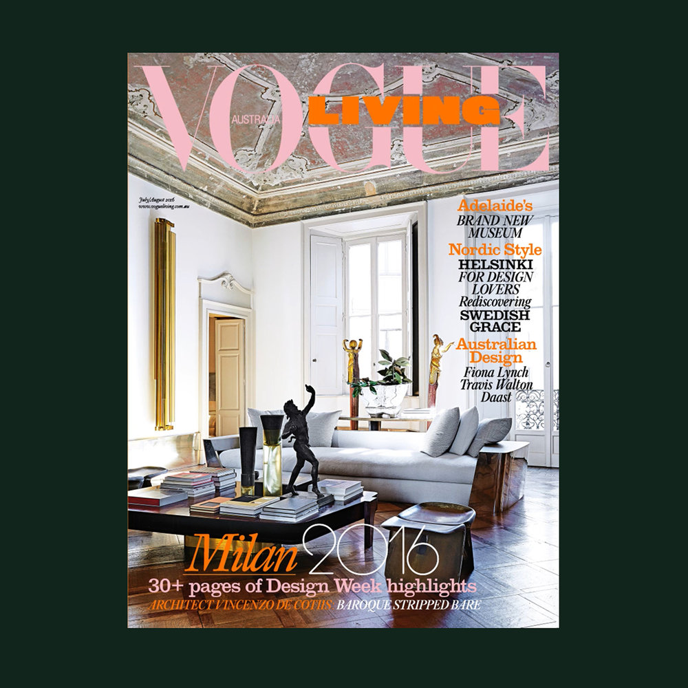 VOGUE LIVING - MODERN LOVE   July / August 2016