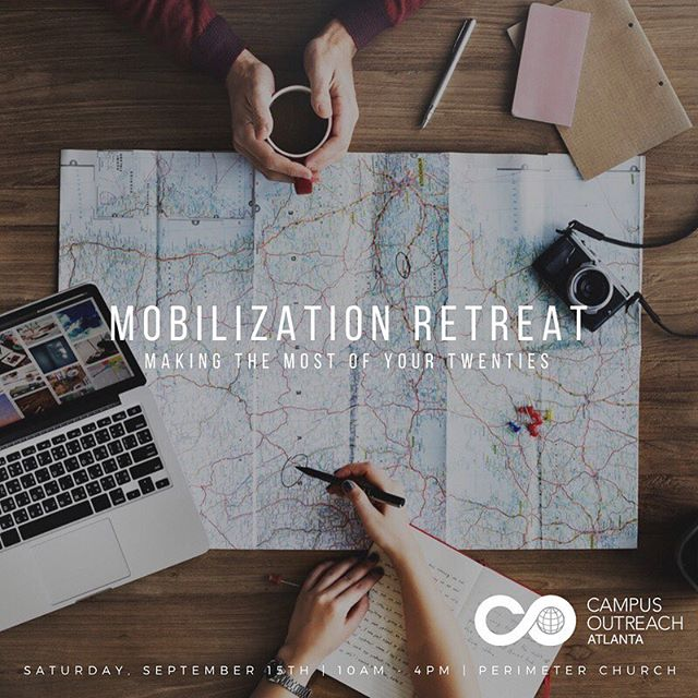 📆 Mark your calendars! Are you a recent grad in the workplace? Rising senior considering what to do after graduation? Junior trying to declare a major? We think the Mobilization Retreat will be beneficial for you! Link to RSVP is our Bio 📲 Hope to see ya there!