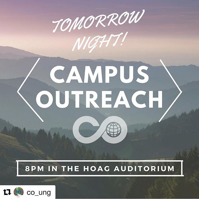 Raise your hand if you remember when North Georgia's CO meetings were  called Outhouse ✋🏽😆 #Repost @co_ung with @get_repost ・・・ FIRST MEETING TOMORROW NIGHT!  See you there! • 8PM - - HOAG Auditorium •