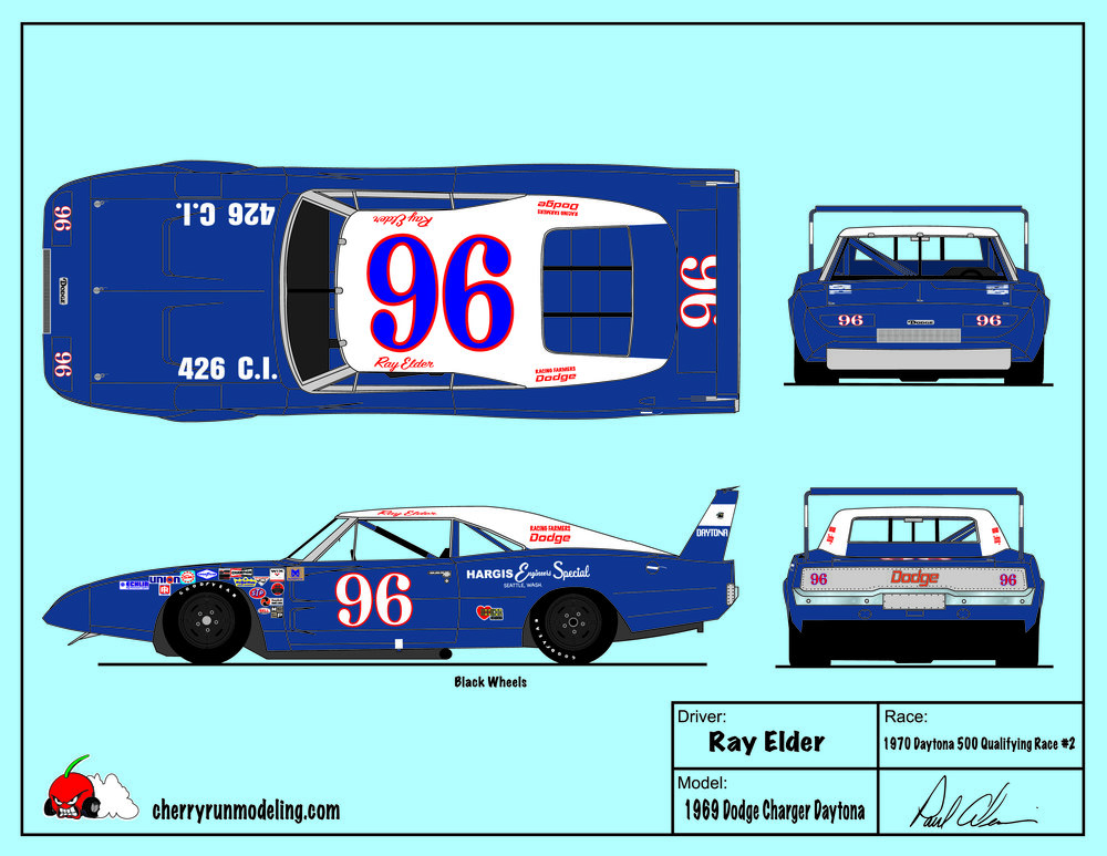 Ray Elder 1970 Daytona 500 Qualifying.jpg
