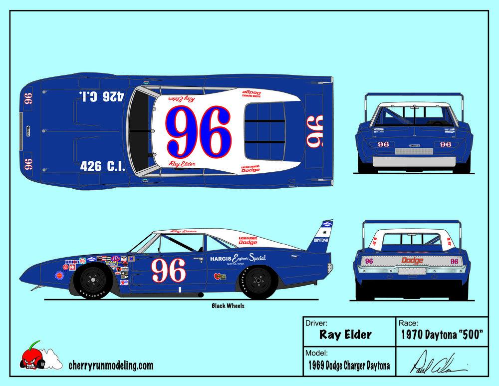 Ray Elder 1970 Daytona 500.jpg