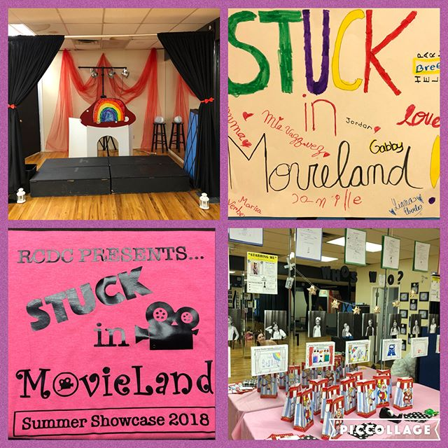 Rhythm Central is proud to present our Musical Theatre summer session's 2018 showcase STUCK IN A MOVIELAND! Come out tomorrow 8/3 at 6:30pm at the studio to support your Rcdc family!!!