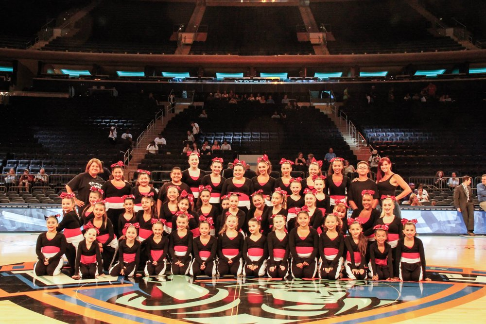 RCDC @ Madison Square Garden Halftime Performance 2015