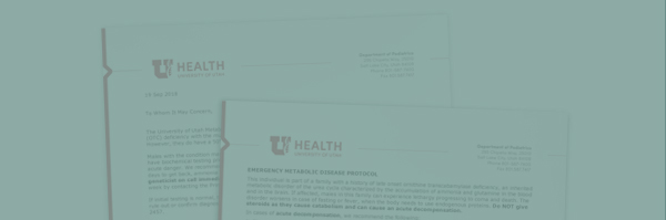 OTC ER and Treatment Letters -