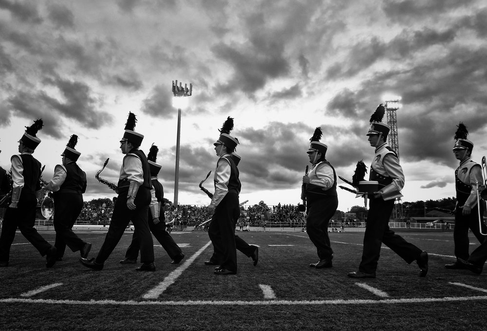 Marching band, Kingston, Pa.