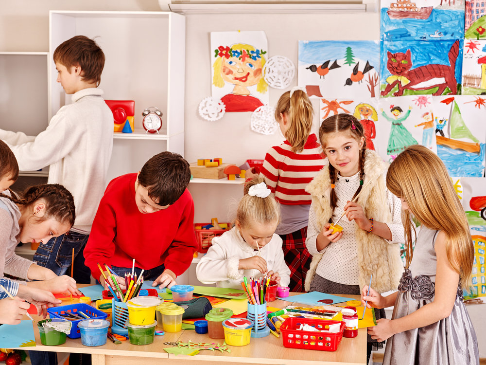 Kids Fine Art Classes