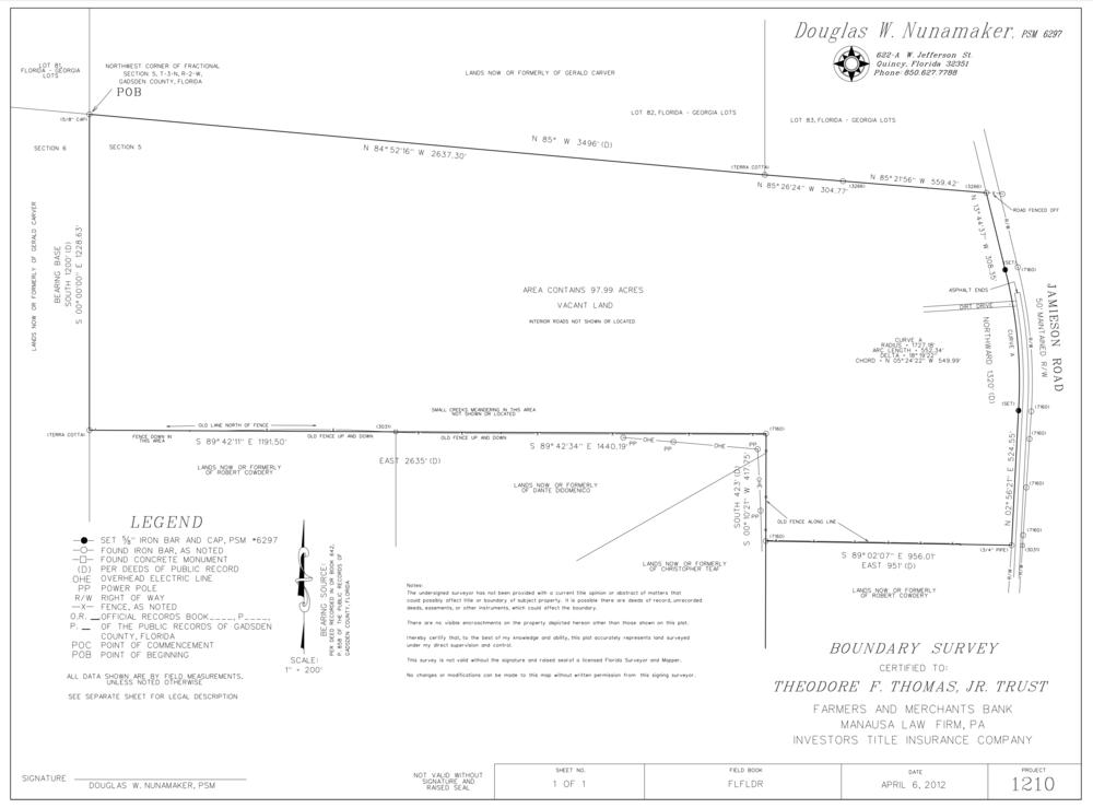 98 Acre Survey