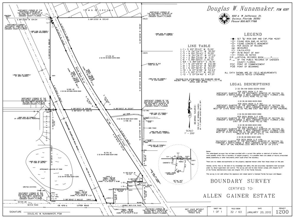 80 Acre Survey