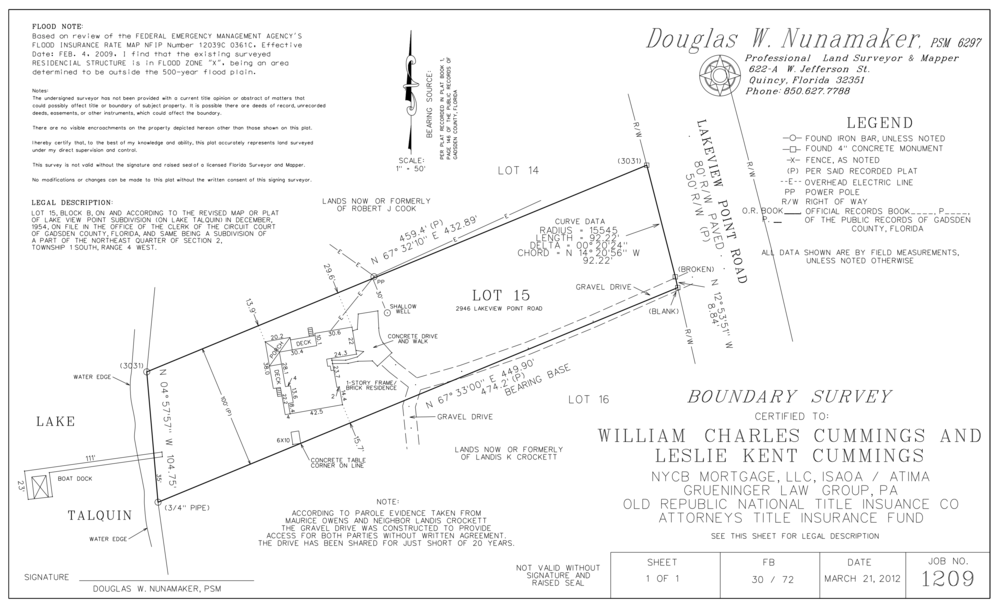 Lot and Block Survey