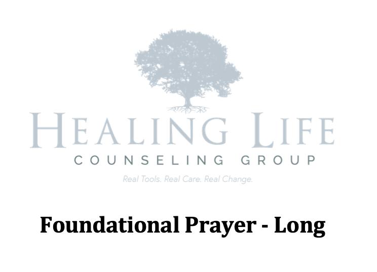Long Prayer -
