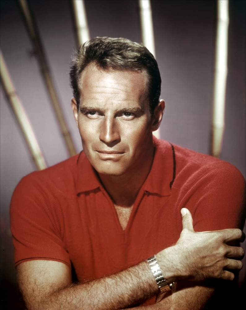 CHARLETON HESTON