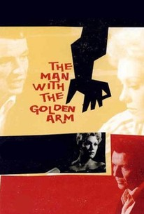 A film based on the novel of the same name by Nelson Algren that tells the story of a professional poker dealer (Frank Sinatra) who returns to Chicago after a spell in prison for possession of heroin, determined to be a reformed character and make it as a jazz drummer, in spite of the odds stacked against him.