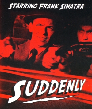 The people in the city of Suddenly, California are looking forward to a visit from the President of the United States – but then the usually tranquil spot is spun into pandemonium when paid assassins arrange to take over a local home, to be in a good place to literally murder the President. Nancy Gates, James Gleason, Sterling Hayden and Frank Sinatra star.