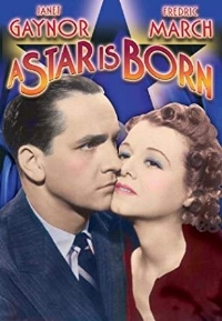 Janet Gaynor plays the young aspiring actress from North Dakota who is determined to make it in Hollywood, Fredric March the long-time movie star with a drinking problem who is all in on taking her under his wing – until her career soars, as his continues its harrowing downward spiral