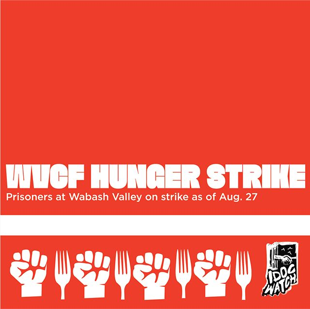 URGENT: Call in to support Indiana prisoners' demands on the SHU at Wabash Valley - they are demanding 1) adequate portions of consumable food 2) stop keeping the unit at torturously low temperatures #PrisonStrike #Indiana