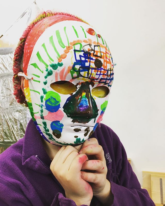 So much fun today! Thanks to all who came out. What should we do next? #fortfuture #masks