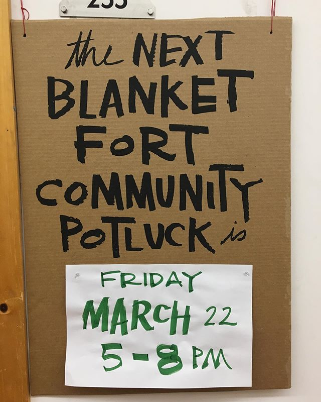 Tonight! 5-8pm suite 255 in Eastworks. 🧺