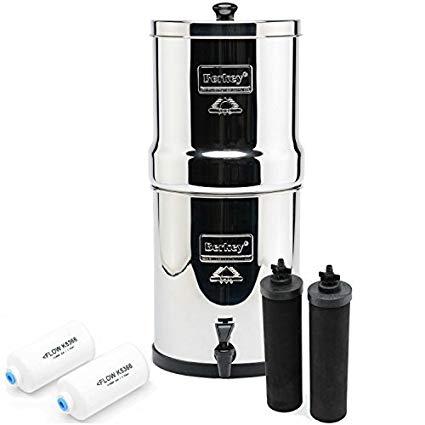 BERKEY Water Filters (filters over 200 contaminants)