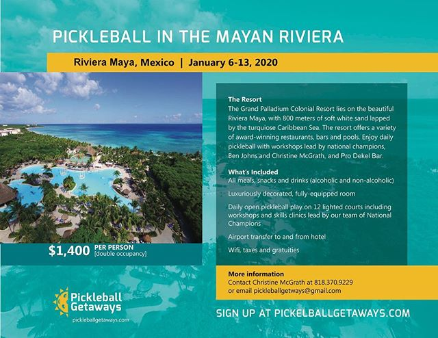 Come join us again for our 2nd annual trip to Mayan Riviera January 6-13,2020! 😁😍🌴 🏖