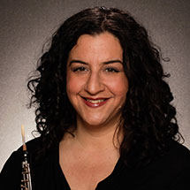 Karen Wagner, oboe - Assistant Principal Oboe, Oregon SymphonyLearn more about Karen ➝