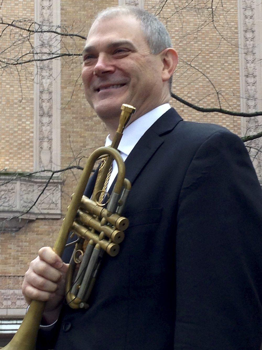 Steve Conrow, trumpet - Regular Substitute Trumpet, Oregon Symphony Orchestra. Performer, Eugene Symphony, Oregon Ballet TheaterLearn more about Steve ➝