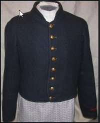 Kersey is a thick cloth. This Civil War uniform is a good example.