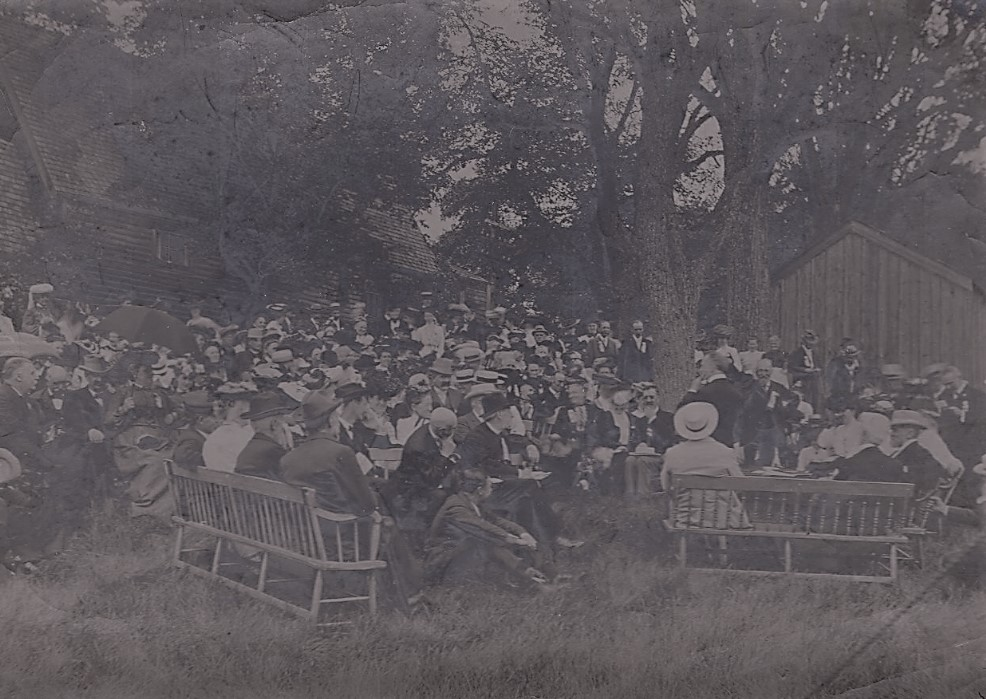 1904 Meeting at the Fairbanks House, Dedham, Massachusetts