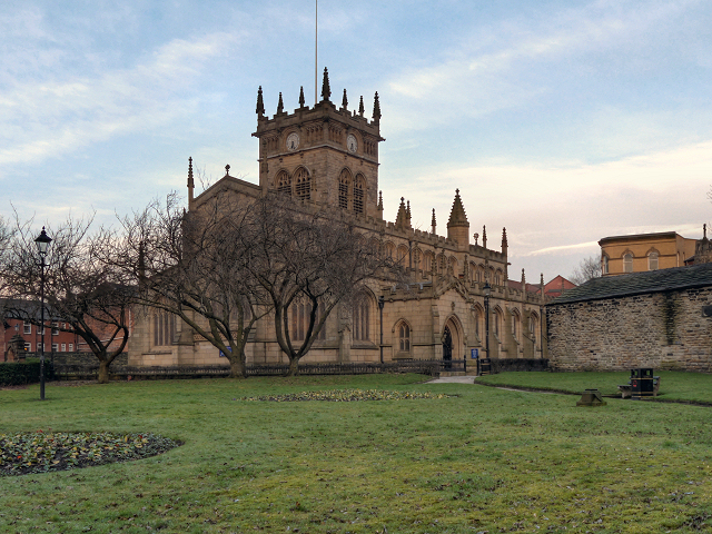All Saints Church, Wigan England before 1199