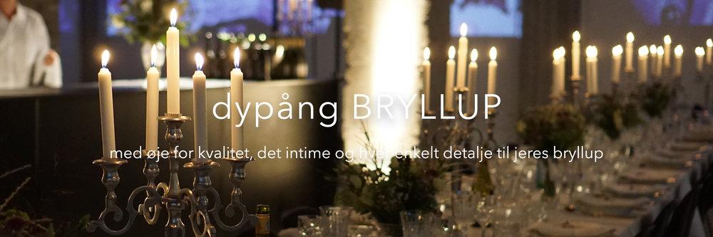 Copy of dypång bryllup - rustikke lokaler