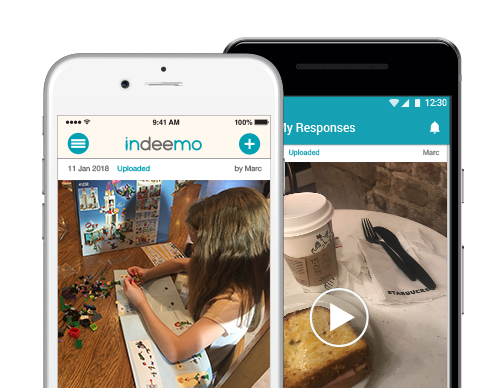 indeemo app mobile diary study