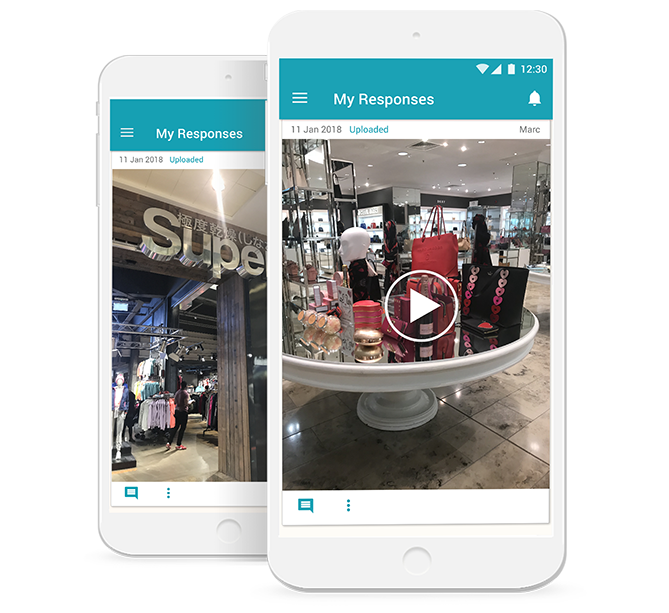 mobile ethnography app for shopper research