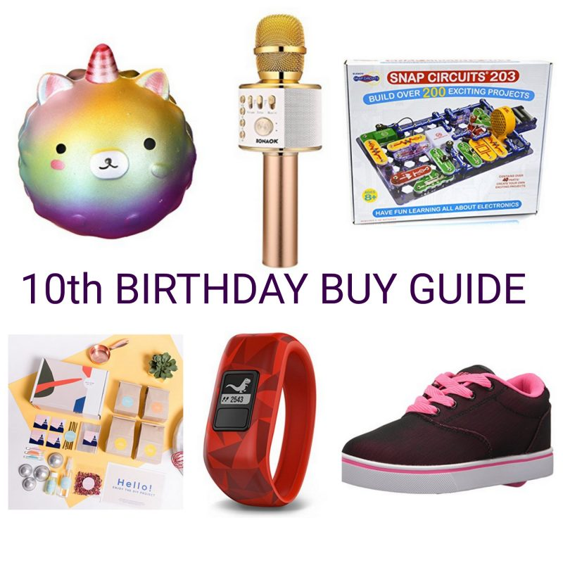Birthday Gifts For 10 Year Olds