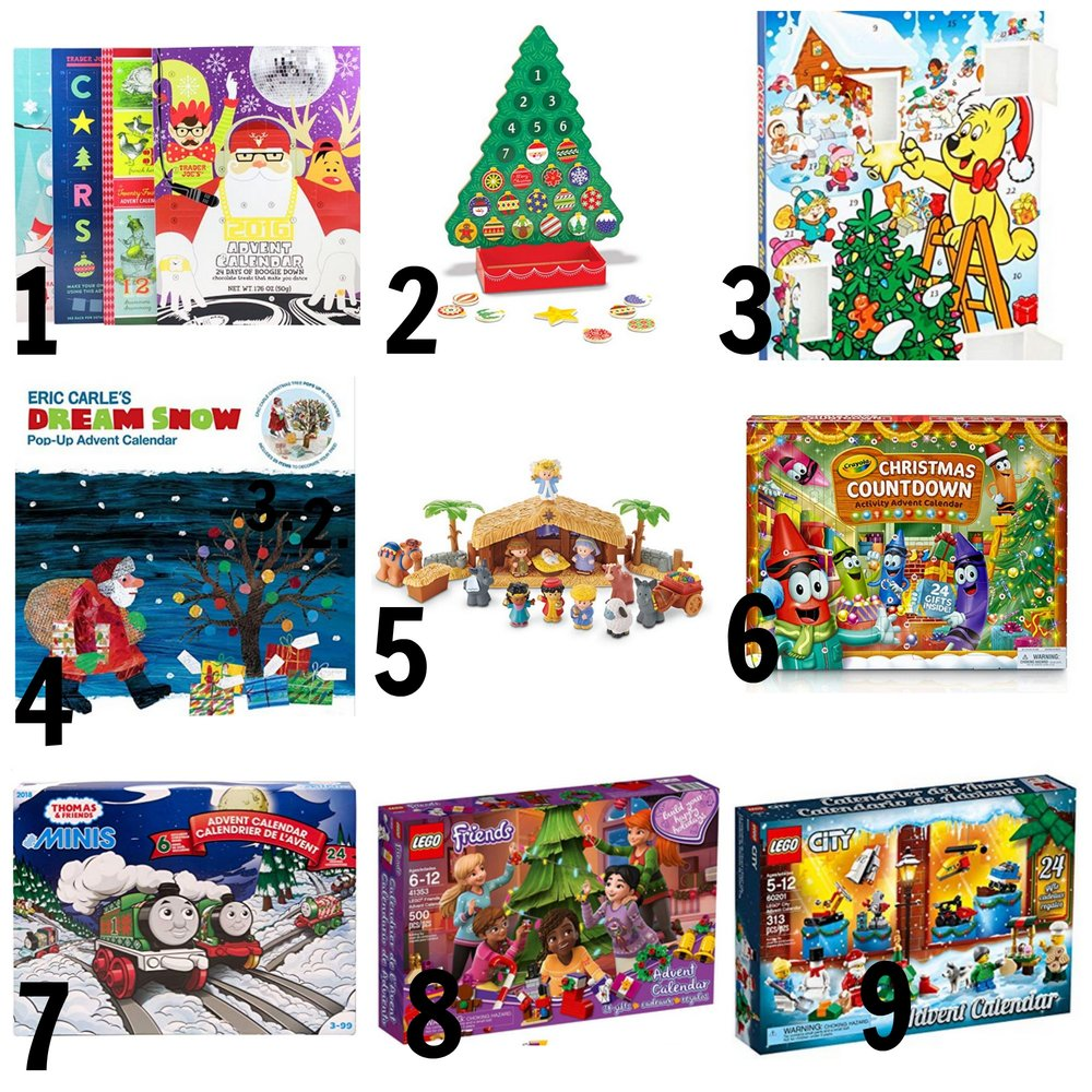 Advent Calendars for kids - Is there anything more exciting than counting down the days until Christmas?
