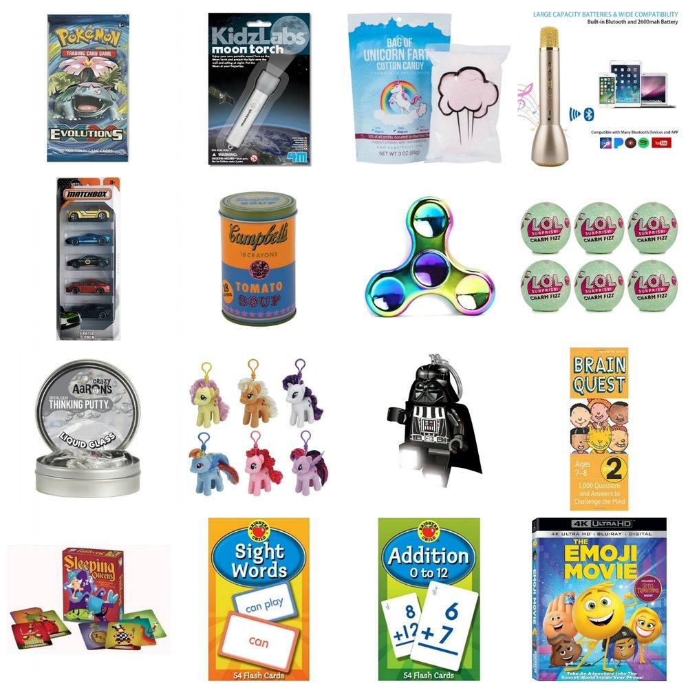 Kids Stocking Stuffers - 2017 List