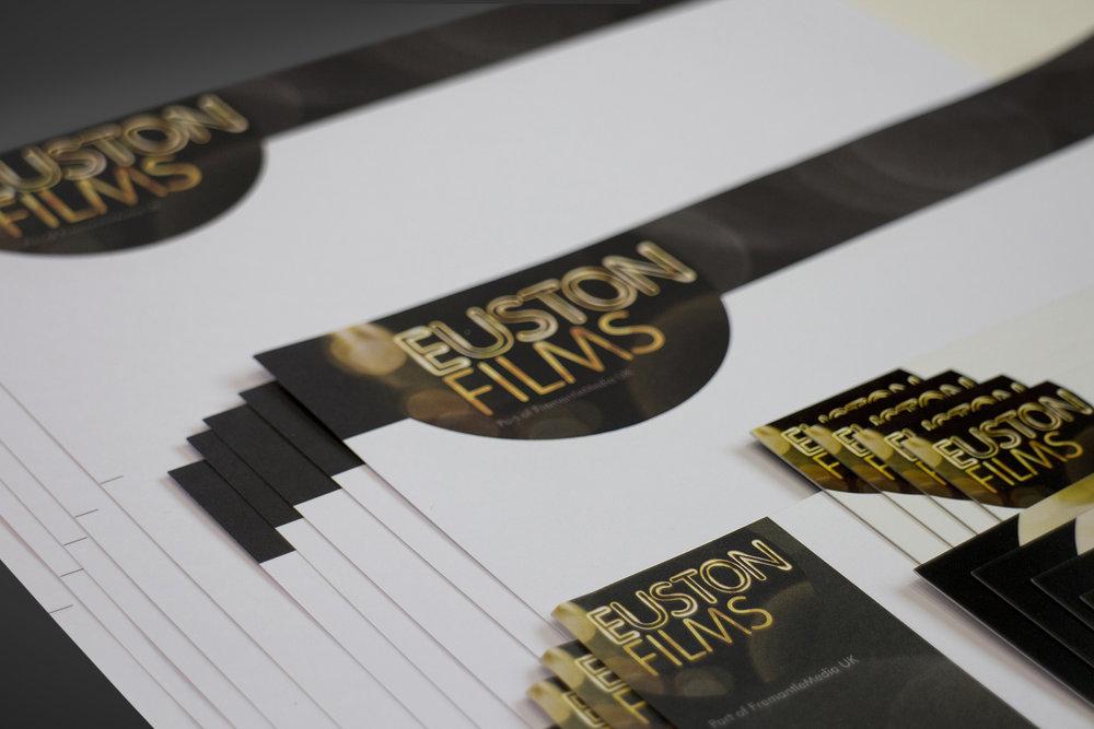 Euston Films stationery
