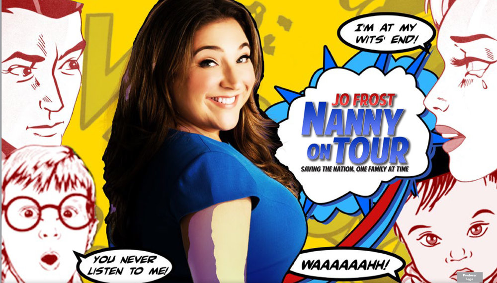 Jo Frost: Nanny on Tour key art visual