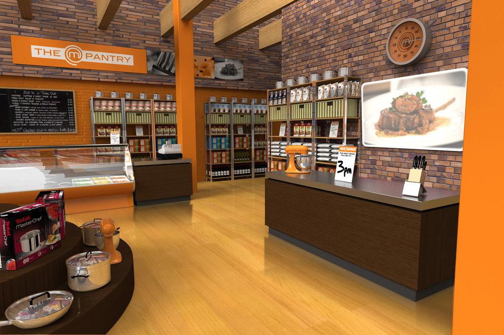 MasterChef Australia store concept