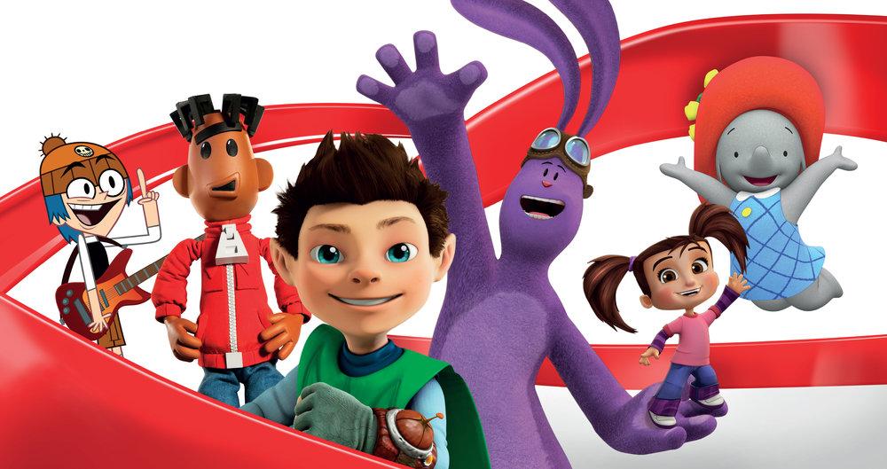 Kids & Family brand campaign core graphic